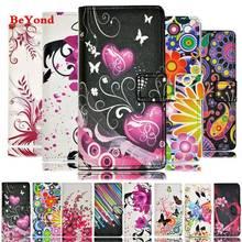 Buy Luxury Flower Pattern Leather Wallet Flip Cover Case Huawei P8 P9 Lite G7 Mate 8 4X Y6 5X Mate G8 4C P7 Grand Prime Shell for $3.38 in AliExpress store