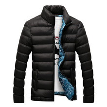 Hot 2016 Stylish Winter Ultra Light Duck Down Jacket Men Long Punk New Brand Slim Fit Mens Jackets And Coats Parka Casual 3XL(China (Mainland))