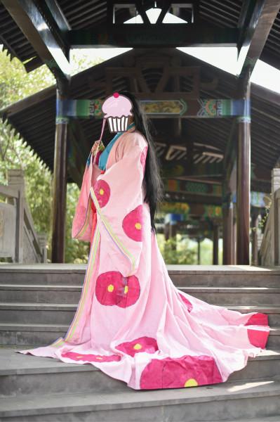 Anime InuYasha Inuyashas mother Izayoi Cosplay Costume set dressОдежда и ак�е��уары<br><br><br>Aliexpress