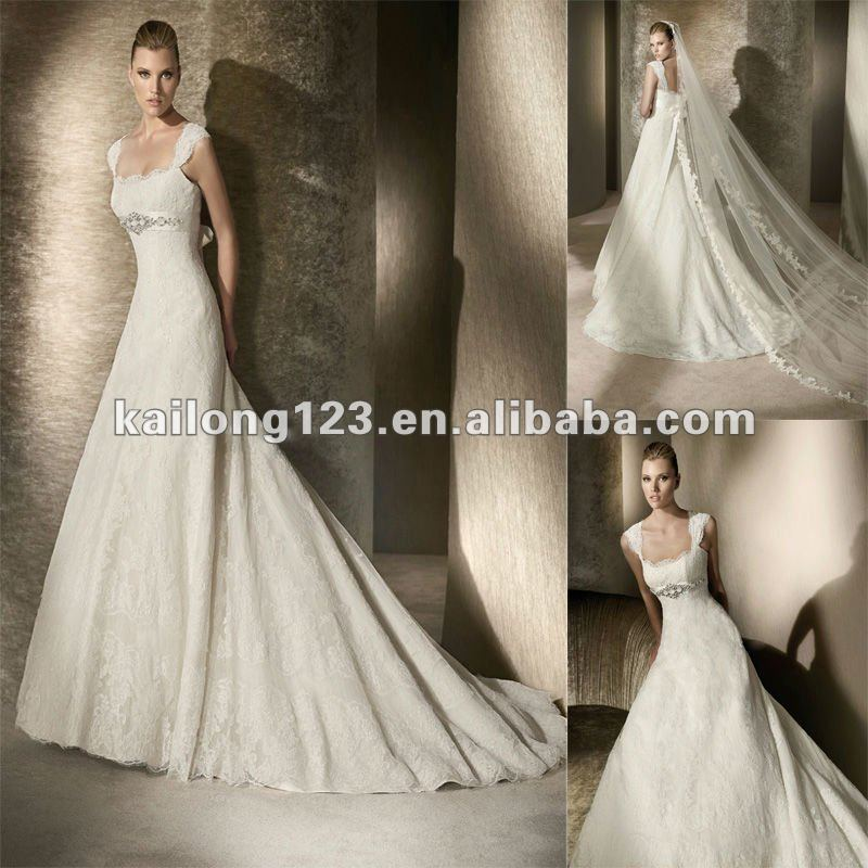 popular unique empire waist wedding dresses