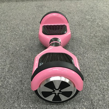 Золото хром Hoverboard 6.5 дюймов 2 колеса я ajhawk скутер Io скейтборд скейт самобалансировку скутер наведите совет розовый Hooverboard