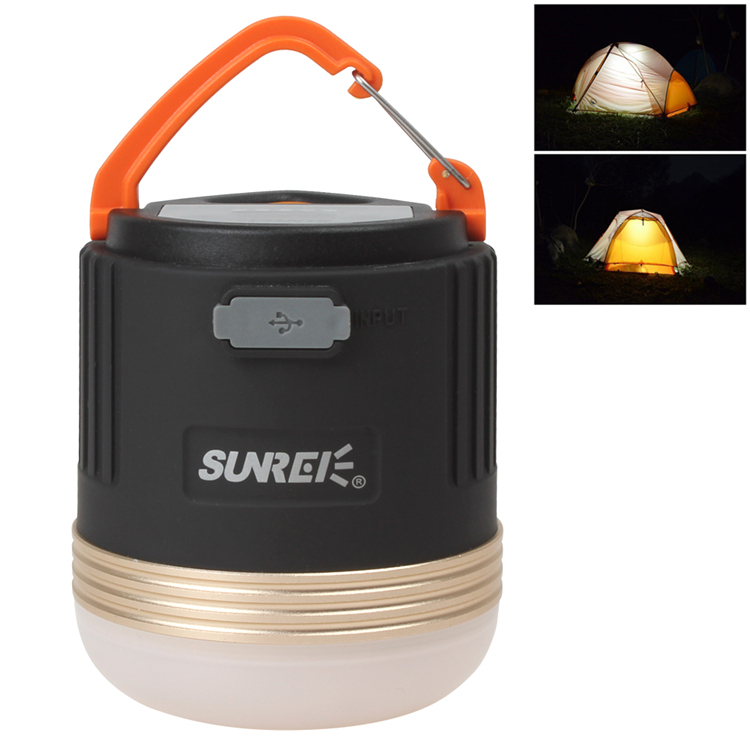 New SUNREE CC3 XP-G R5 Portable Outdoor Lights Led Camping Lamp Cree LED Camping Lantern USB Port Charging for Mobile Phones(China (Mainland))
