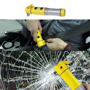Ш . Multifuction автомобиль автоматический экстренная спасательных молоток ремень резак фонарик экстренная молоток уг