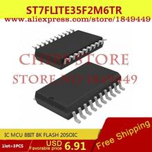 Integrated Circuits Types ST7FLITE35F2M6TR IC MCU 8BIT 8K FLASH 20SOIC ST7 7F - Chips Store store