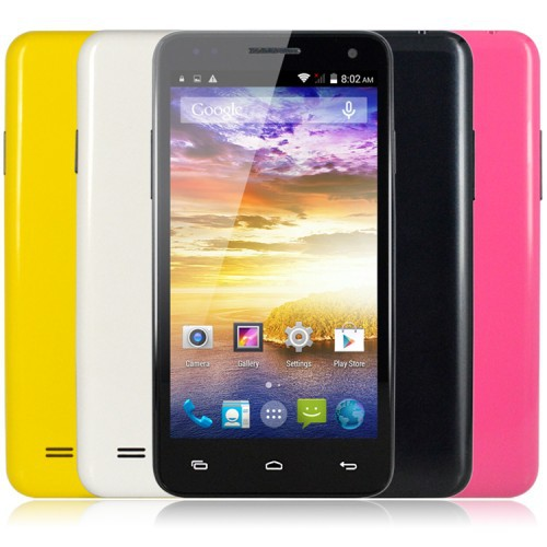 W330 Android 4.4 MTK6582 Quad Core 1.3GHz 3G Smartphone RAM 512MB ROM 4GB Unlocked 4.5Inch GPS 8.0M Camera WiFi Cell Phones(China (Mainland))
