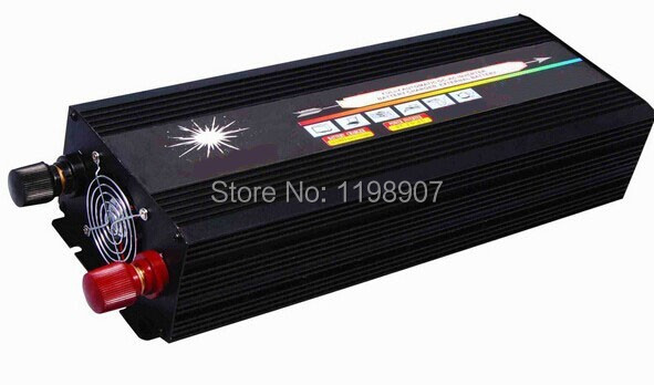 1500W Power Inverter Pure Sine Wave Inverter12/24/48V to 120/220V,Run A Fridge<br><br>Aliexpress