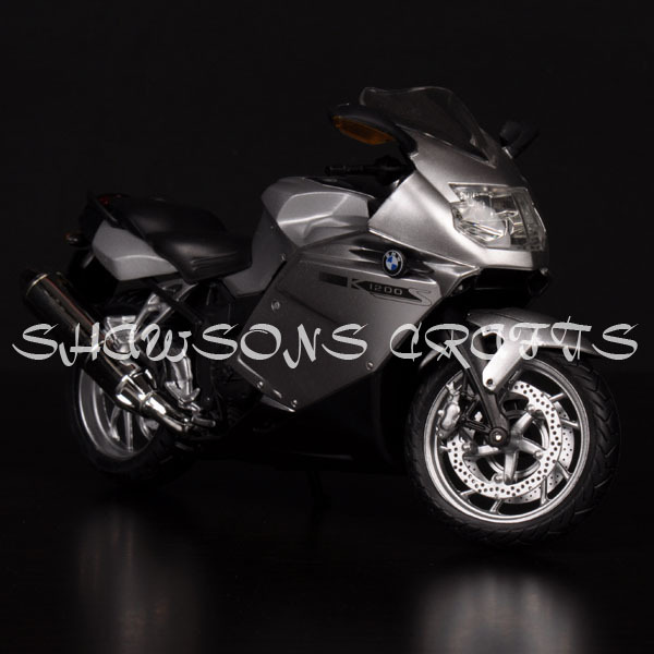 1/12 DIECAST MOTORCYCLE MODEL TOY K1200S SPORT BIKE REPLICA COLLECTIONS(China (Mainland))