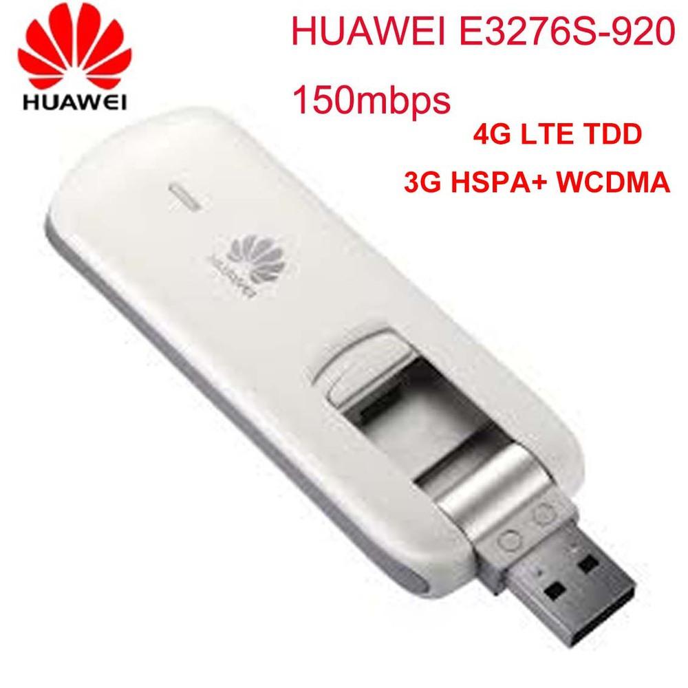 Unlocked Huawei E3276s-920 4G LTE TDD Wireless Modem 3G HSPA+ WCDMA UMTS SIM Card USB Wifi Dongle Mobile Broadband Free Track(China (Mainland))