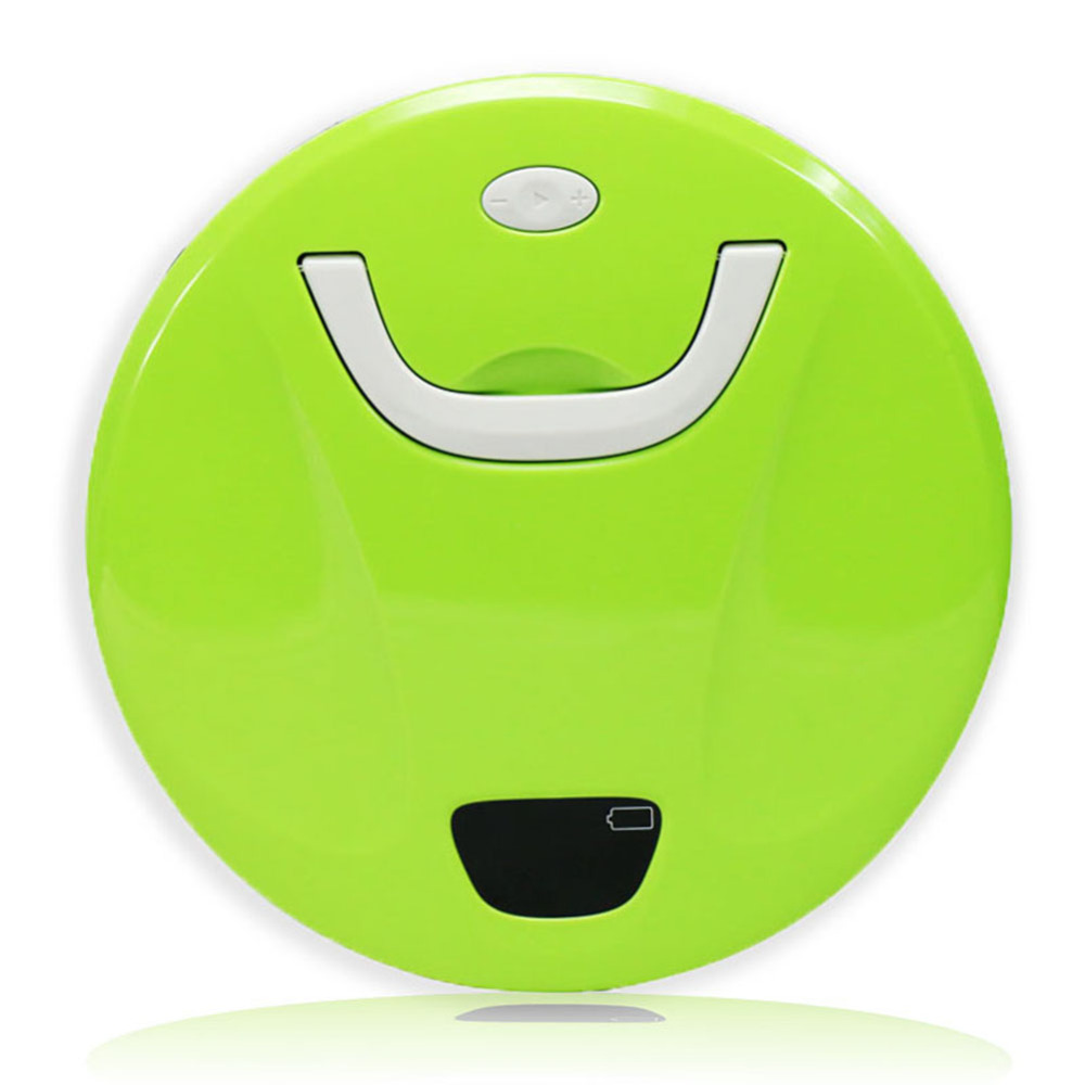 Green Automatic Smart Robot Vacuum Cleaner Floor Sweeper W/ LED Screen Display Dust Filter Top Quality(China (Mainland))