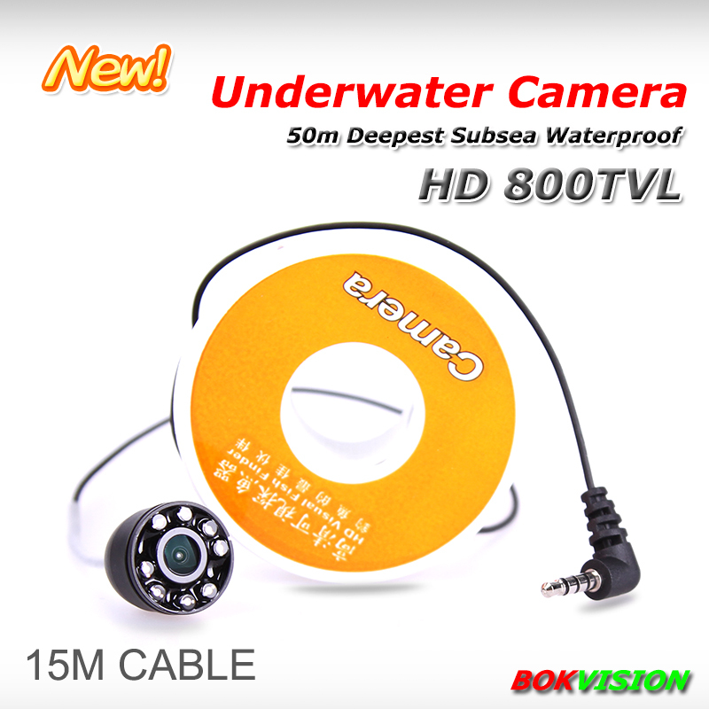 FREE Shipping HD 800 TVL Underwater Fishing Camera Fish Finder Ice Fishing Camera CR006H with 15M Cable(China (Mainland))