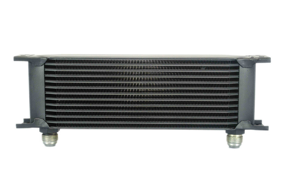 VR Racing Store 13 row British type Aluminum Universal Engine transmission oil cooler 13rows Black VR7013BK