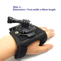 Free Shipping Size L Glove style Mount 360 degree Rotation with Waterproof Shell for GitUP SJ4000