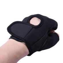 New Anti skid Half Finger Exercise Weightlifting Training Gloves Black Pink Size S M L XL