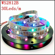 Buy Free shipping Individually addressable 1m 3m 4m 5m ip30 ip67 5050 SMD rgb 5V ws2812 ws2812b led strip RGB 5050 Full colour for $3.28 in AliExpress store