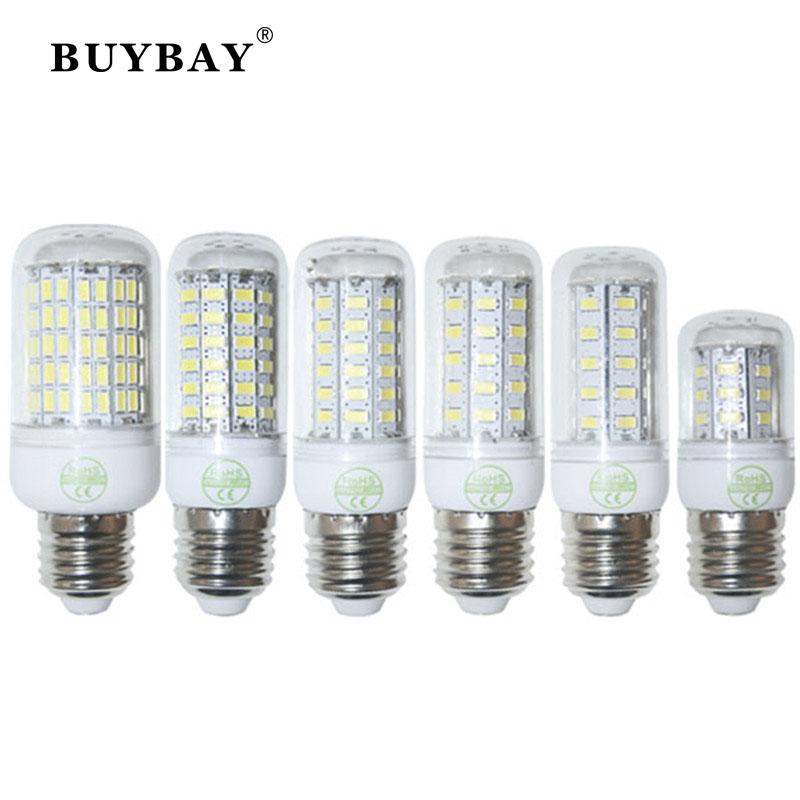 220V/110V SMD5730 24LED 36LED 48LED 56LED 69LED 110LED lamp E27 crystal chandelier led bulb light lampada led christmas lights(China (Mainland))