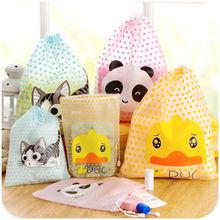 1 PCS Helpful Cat Duck Panda Travel Cosmetic Bag Makeup Pouch Toiletry Storage Organizer Waterproof String Handbag(China (Mainland))