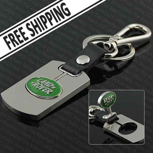 Car Keychain for Freelander 2 Discovery 3 Range Rover Evoque Sport Defender (2Pcs/lot): Two-Sided Metal Brand Logo Key Ring<br><br>Aliexpress