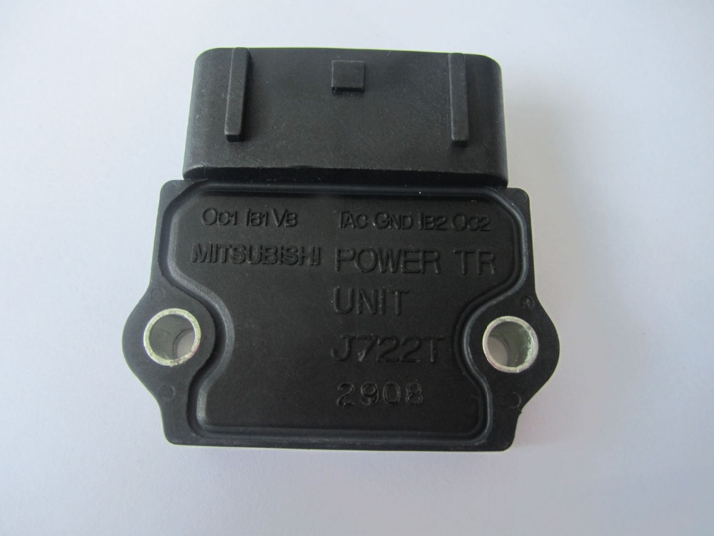 ORIGINAL POWER TR UNIT J722T MD326836 FOR 1996-1999 MITSUBISHI ECLIPSE 2.4L 4 CYL Igniter Ignition Module POWER TR UNIT(China (Mainland))