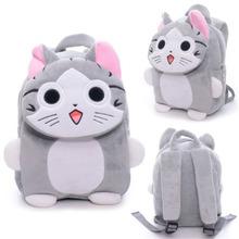Japan Chi's Cat Backpack Plush Kindgarden Kids Tablet Shoulder Backpack Flap Design School Bag 17*25cm New Arrival(China (Mainland))