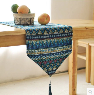 Linen cotton table runner camino de mesa crochet table for Camino de mesa a crochet