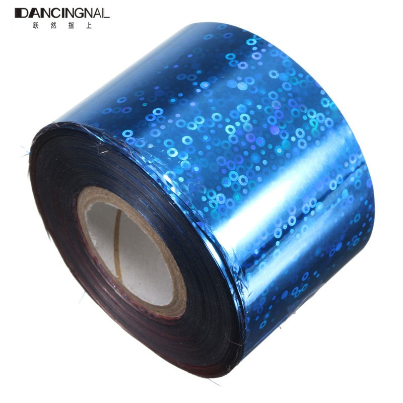1 Roll Pro Nail Foil Stickers Decals 1Roll 4CM*110-120M Popular Multicolored DIY Starry Sky For Nails Art Decoration(China (Mainland))