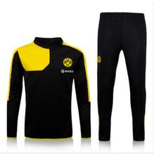 Free ship top Thai Quality Dortmund hoody 15/16 Football Borussia Dortmund Sweatshirts 2016 Dortmund REUS BVB Sport Sweatshirts (China (Mainland))