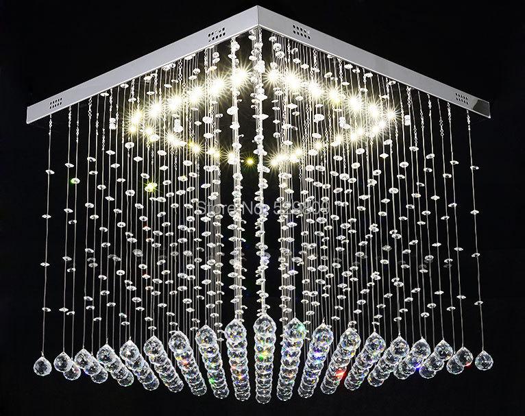 Free Shipping 606060cm Led Kristall Deckenleuchte Luster  -> Led Deckenleuchte Lavinia