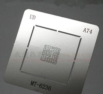 2pcs/lot MTK MT6236A MT6236 CPU BGA reballing Solder template stencil A74(China (Mainland))
