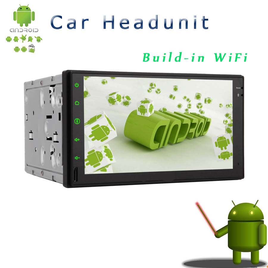 Double 2 Din Car DVD Player Car Stereo Android 4.2 HD Multi-touch 7 inch Screen GPS Navigation Car NO DVD Player Headunit Wi-Fi(China (Mainland))
