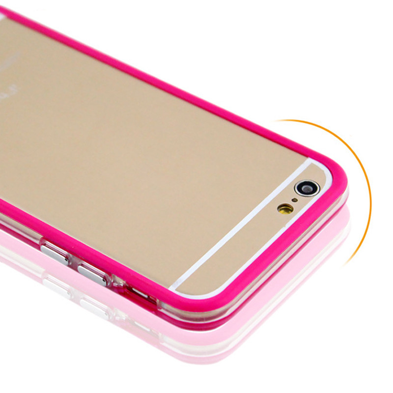New Products Colorful Protective Border Transparent Phone Cover For iPhone 5 5s SE Ultra Slim Silicon Simple Designs in Stock