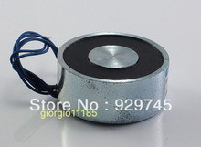 1pcs 49mm 12V Holding Electromagnet Lift 40kg Solenoid(China (Mainland))