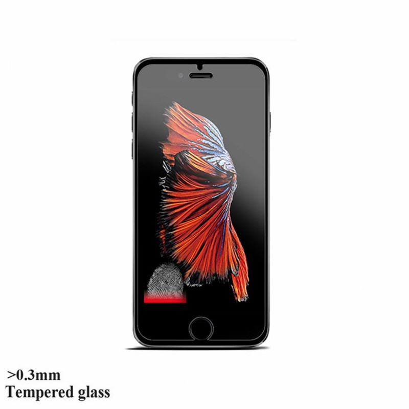 0.3mm 9H tempered glass For iphone 4s 5 5s 6 6s plus screen protector protective guard film case cover