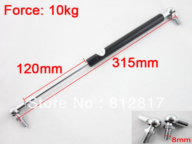 10kg/22lbs Force Air Spring Machinery Lift Support Gas Spring 15mm Tube Dia tefal balai air force extreme ty8751rh