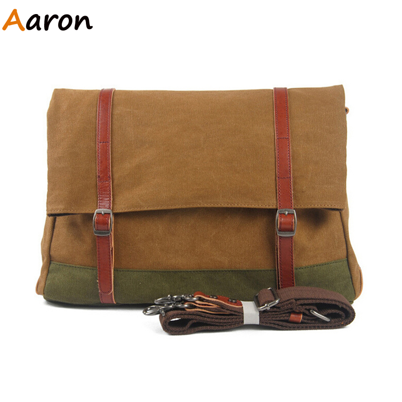 Aaron - New Arrival Retro Trendy Canvas Casual Men Messenger Bag,Fashion Satchel Patchwork Shoulder/Cross-body Male-bag Selling<br><br>Aliexpress