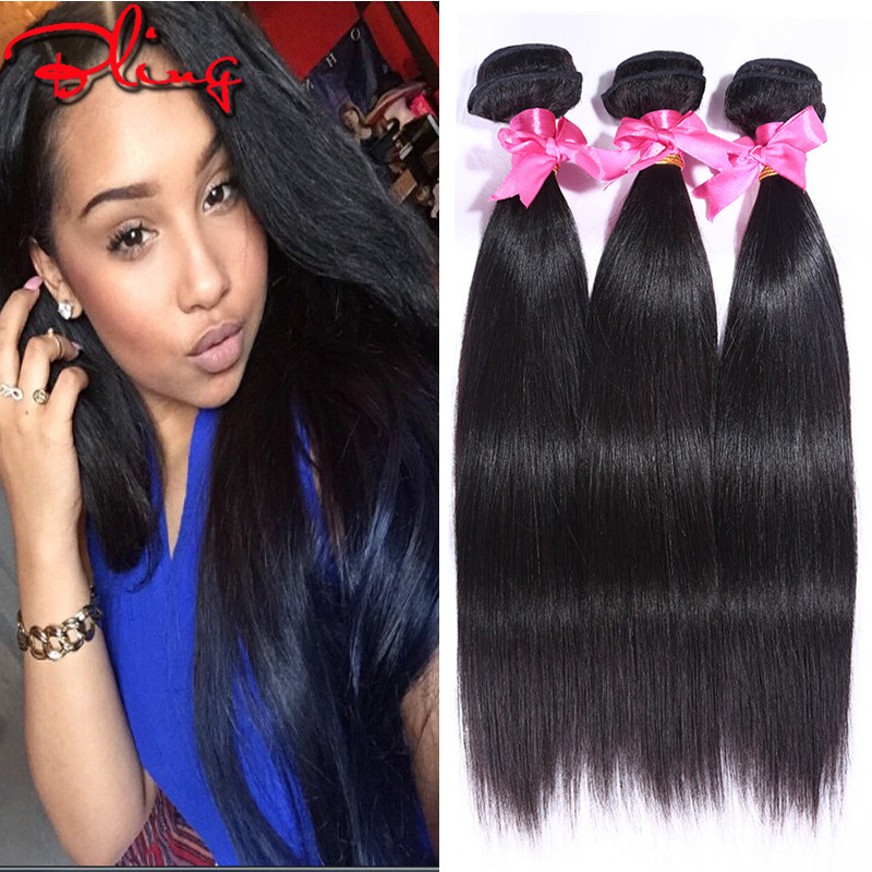 H&J Hair Malaysian Virgin Hair Straight Cheap Human Hair Bundles Deals Malaysian Virgin Hair 4 Bundles Hair Extensions On Sale