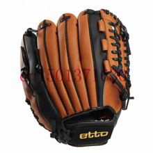Etto wear-resisting PU Adult Men Baseball Gloves Single Left/Right Hand 11.5'' 12.75'' professional Pitcher's competition Glove (China (Mainland))