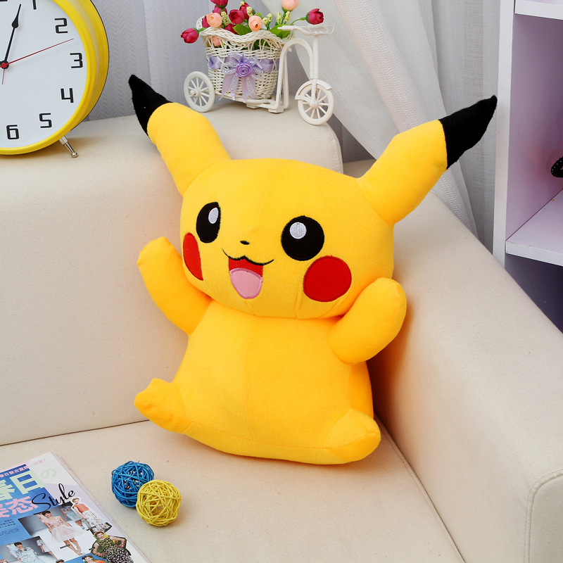 Free Shipping Hot Sale 20cm Special Offer Pikachu Plush Toys Very Cute Pokemon Plush Toys for Children's Gift High Quality(China (Mainland))