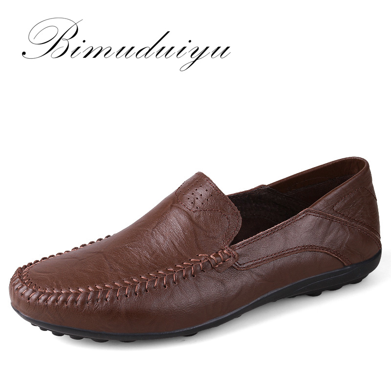 Hot Sale Fashion Men's Casual Light Shoes genuine leather Slip-On Walking /Driving Luxury Comfortable Shoes Big size for men(China (Mainland))