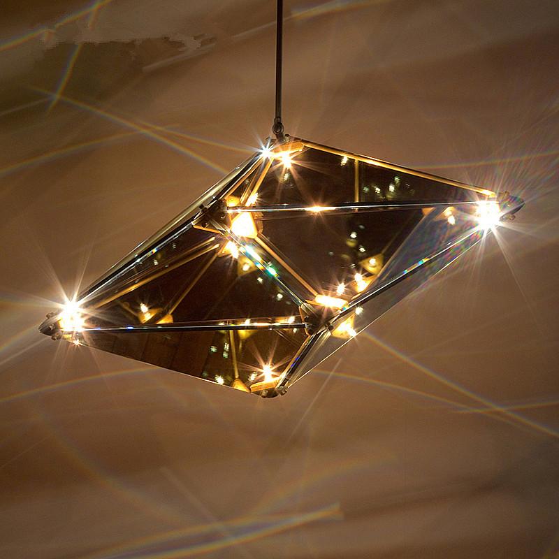 glass chandeliers light fixture lustre cristal lighting lamparas hanging suspension maxhedron. Black Bedroom Furniture Sets. Home Design Ideas