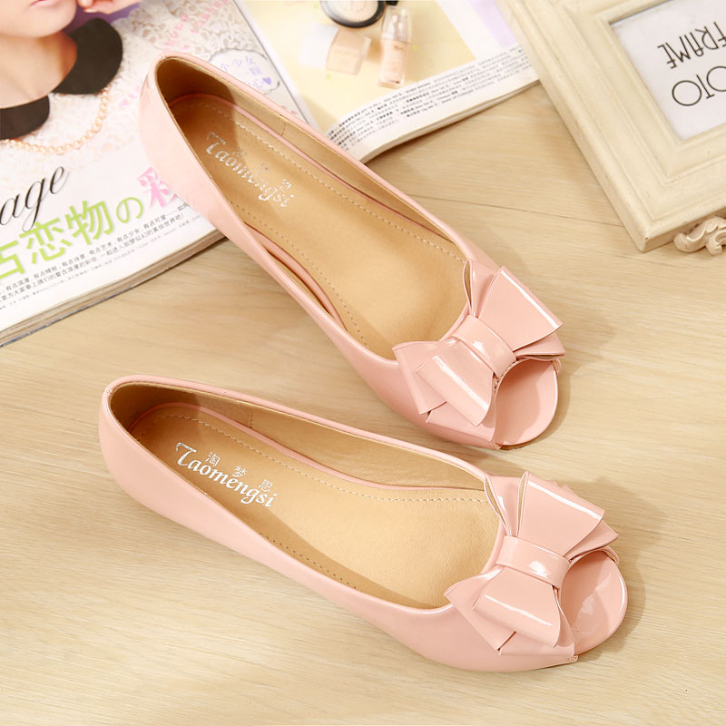 2016 Fashion Women Casual Shoes Flats Open Toe Soft Soles Summer Sandals Sweet Party Size 33-43