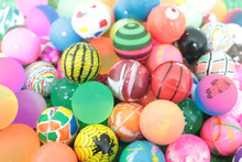 32mm mixed elastic rubber ball toy ball toy machine