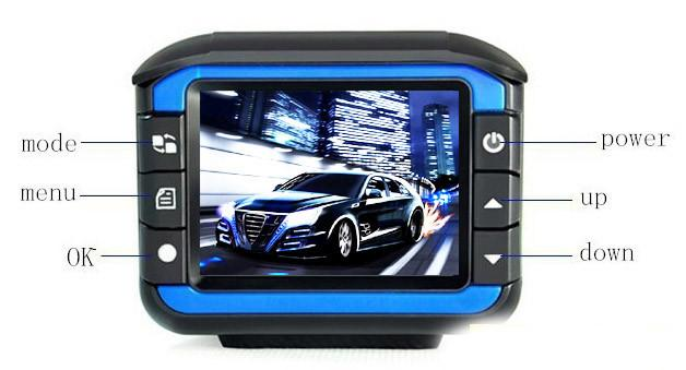 Hot sales dash radar car detector+G-Sensor cam min dvr dash cam 720p manual car camera hd dvr(China (Mainland))