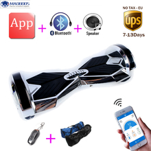 Buy 8 inch APP Smart Balance 2 Wheel Hover board Skateboard Electric Unicycle Drift Self Balancing skywalker Standing scooter for $205.20 in AliExpress store