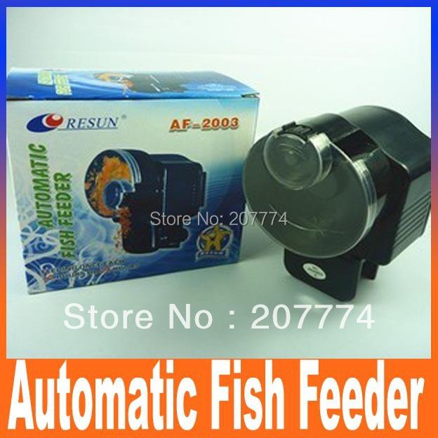 AF-2003 Automatic Auto Fish Feeder, For Aquarium,Auto Aquarium Fish Tank Food Feeder Automatic Feeder Free shipping(China (Mainland))