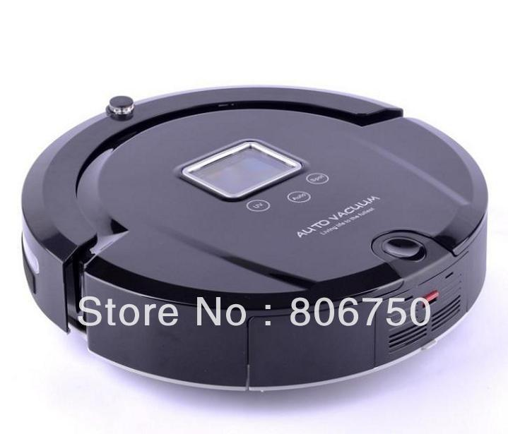 Free Shipping/2013 Brand New Arriving Lowest Nosie, Longest Working Time Auto Vacuum Cleaner,Smart Vacuum Cleaner(China (Mainland))
