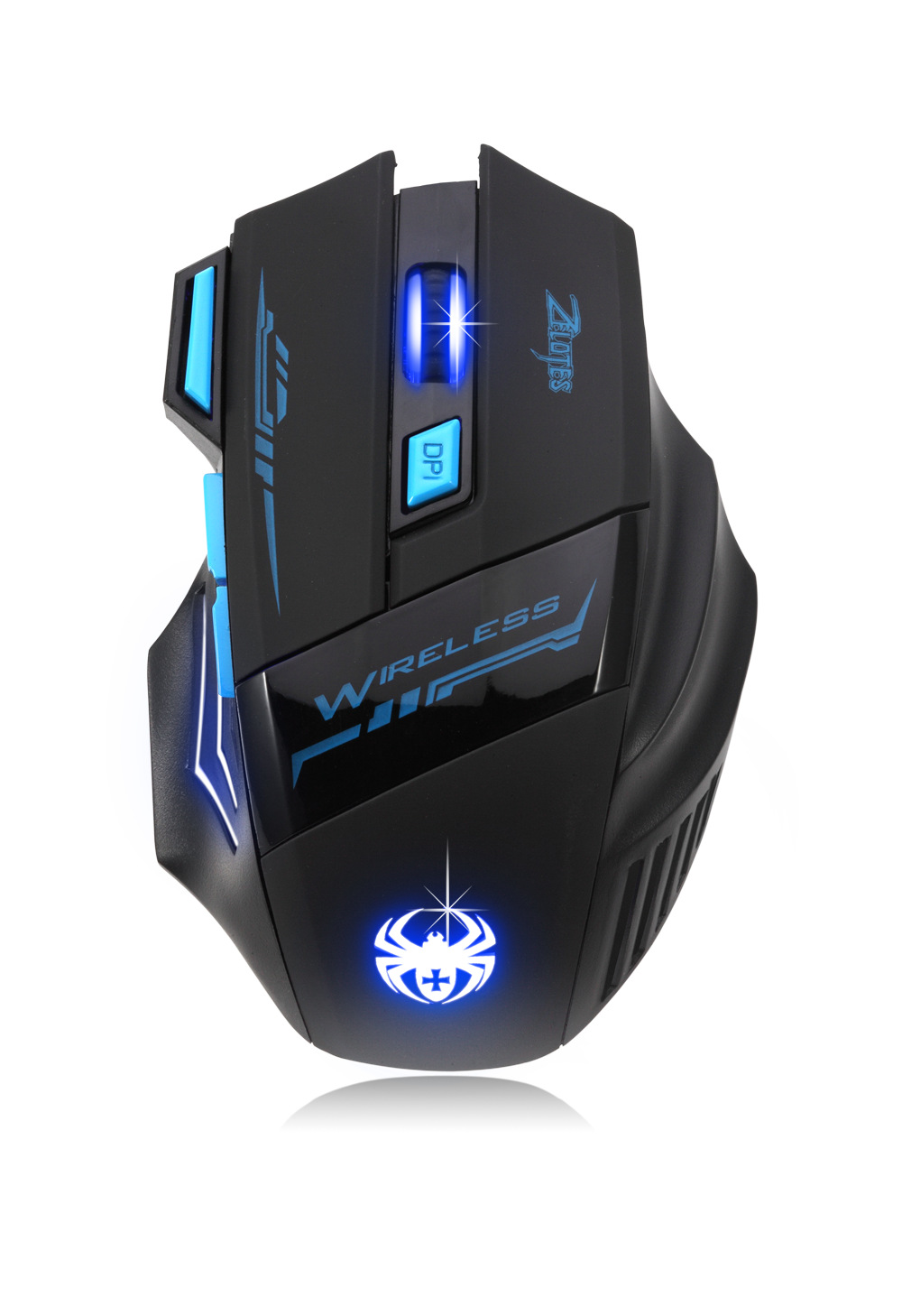 2016 New Wireless gaming mouse 2.4G wireless mouse backlight 2400dpi computer wireless mice