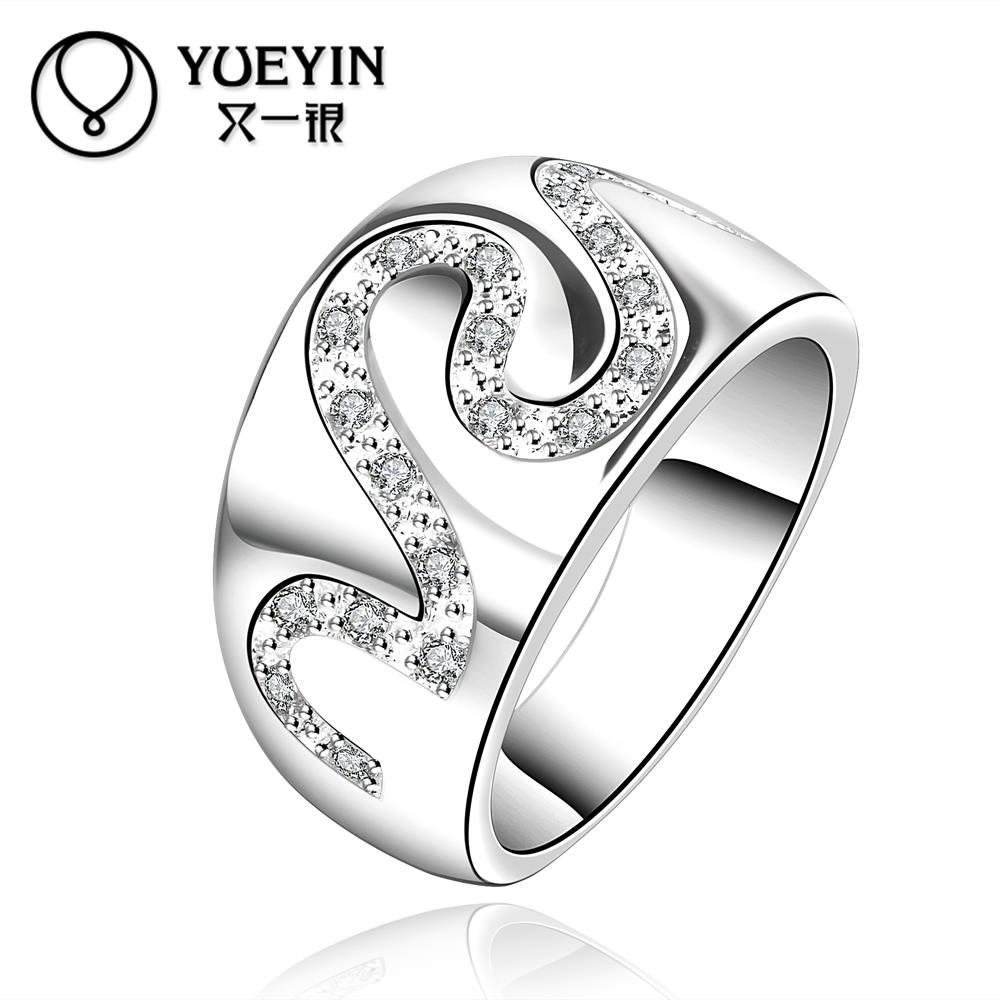 R580-8 Hot Promotion wholesale Top quality 925 Silver new design finger ring(China (Mainland))