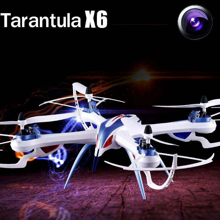 YiZhan JJRC Tarantula X6 Drone 2.4G 4CH 6-Axis RC Quadcopter Helicopter Toys With 2MP or Wide Angle 5MP Camera(China (Mainland))