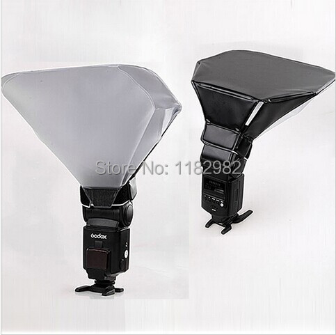Flash Diffuser Reflector Softbox for 580EX 430EX SB600 SB800 SB900 YongNuo Universal S- SIZE WIth Tracking Number<br><br>Aliexpress