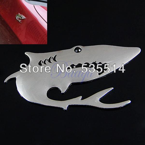 Shark Emblems New Car Auto 3d Shark Emblem